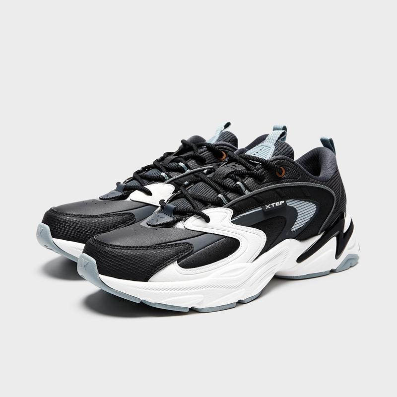 【48度软】男子休闲鞋 21年新款软底弹力后跟tpu复古重塑老爹鞋879419320011