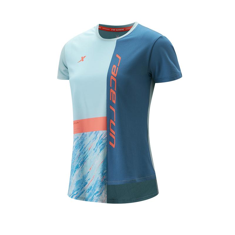 专柜款 女子针织短袖 21年新款透气跑步运动T恤979228010198