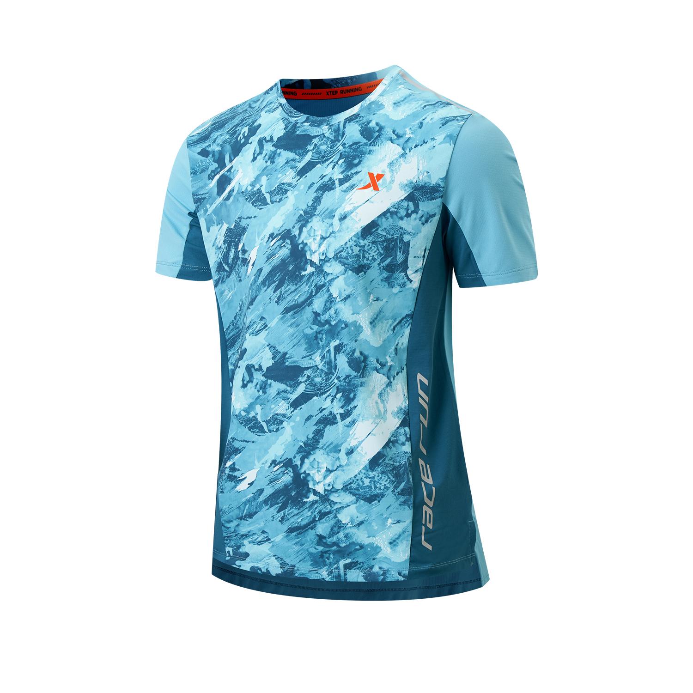 男子短袖针织衫 21年新款跑步系列男子短袖针织衫979329010242