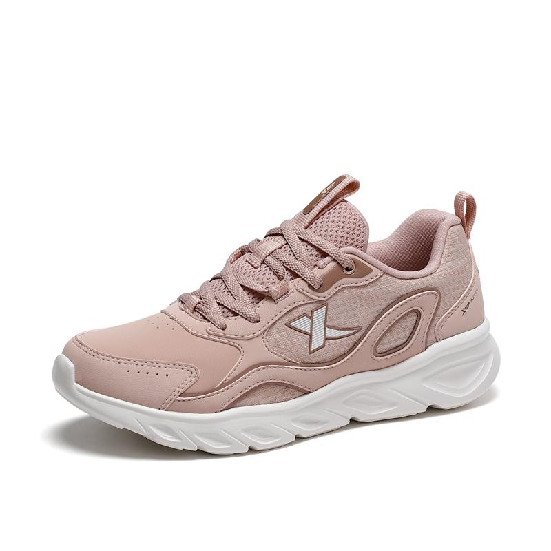 女子跑鞋 21年新款革面百搭女子跑鞋879418110020