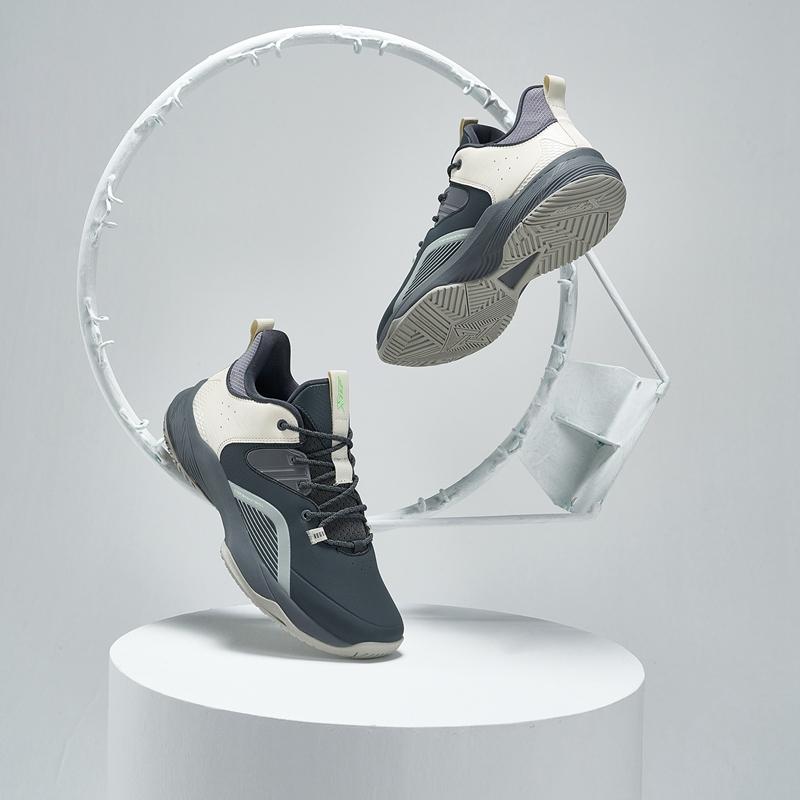 男子篮球鞋 21年新款 时尚减震舒适中帮男子篮球鞋879419120003