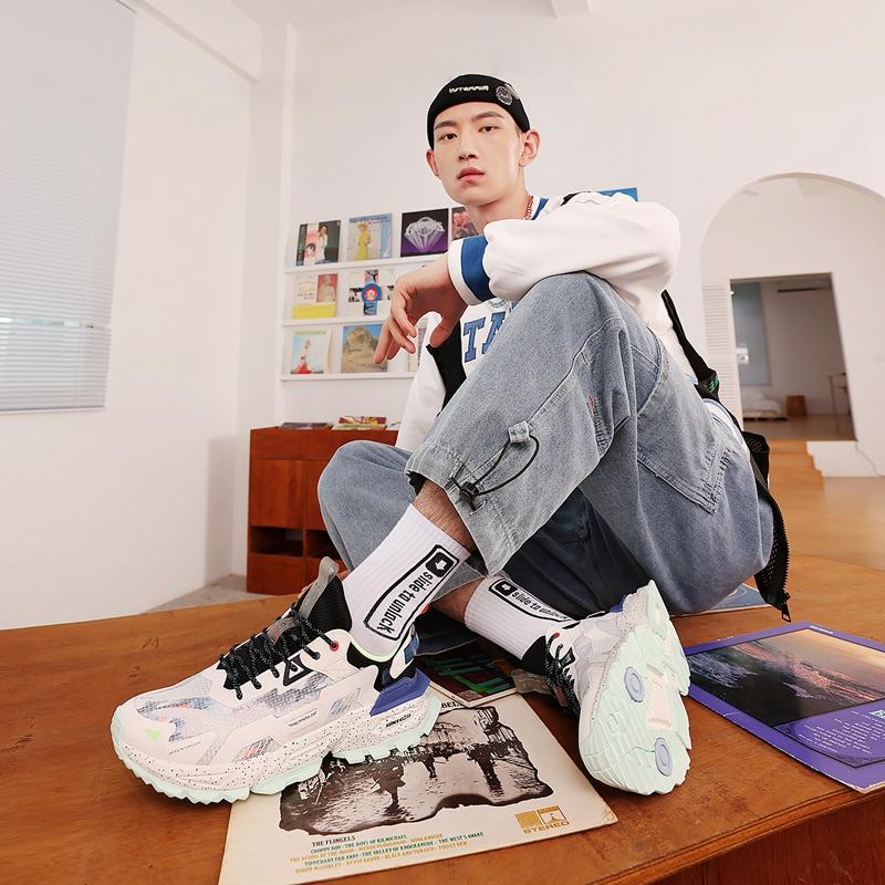 【山海】男子休闲鞋 21年新款 谢霆锋同款街头潮流时尚老爹鞋879219320528
