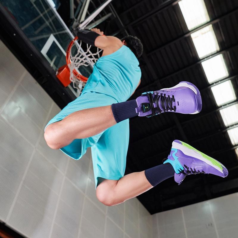 男子篮球鞋 21年新款 防滑耐磨高帮运动鞋879119127057