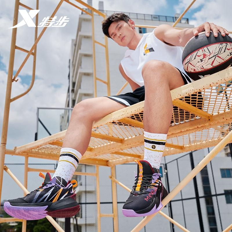 【战獒2.0】专柜款 男子篮球鞋 21年新款 减震耐磨舒适中帮男子篮球鞋979319120003