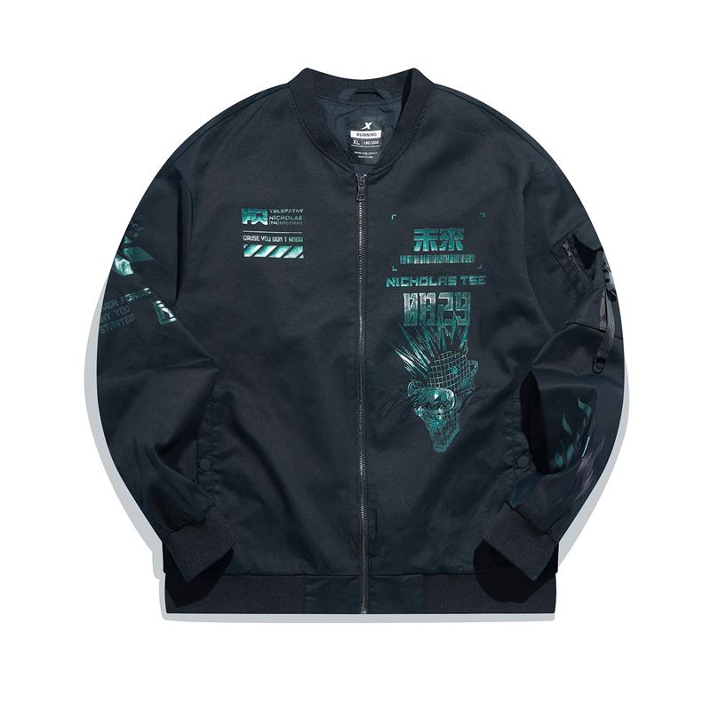 【谢霆锋同款】专柜款 男子双层夹克 21年新款 时尚运动防风外套979429120815