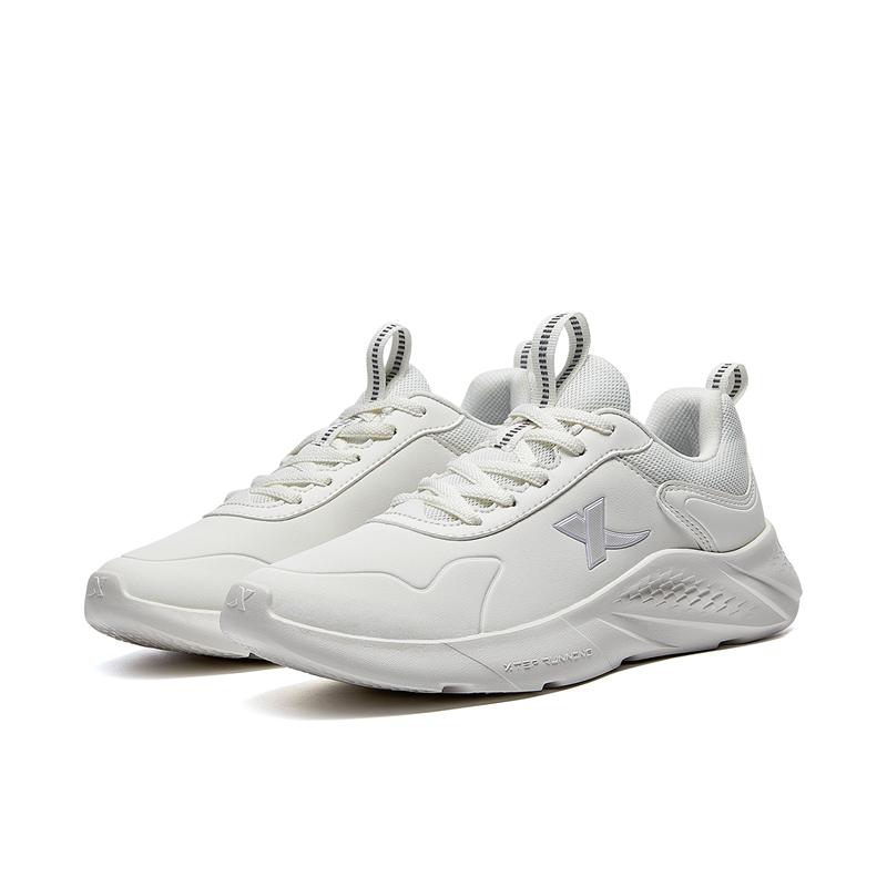 女子跑鞋 21年新款 舒适轻便革面跑鞋879418110035