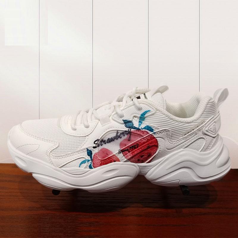 【草莓鞋】迪丽热巴同款草莓老爹鞋 21秋季新款休闲鞋979318320148