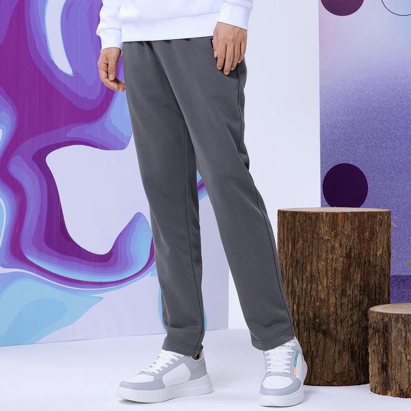 男子针织长裤 21年新款 运动简约宽松男直筒裤879329630091