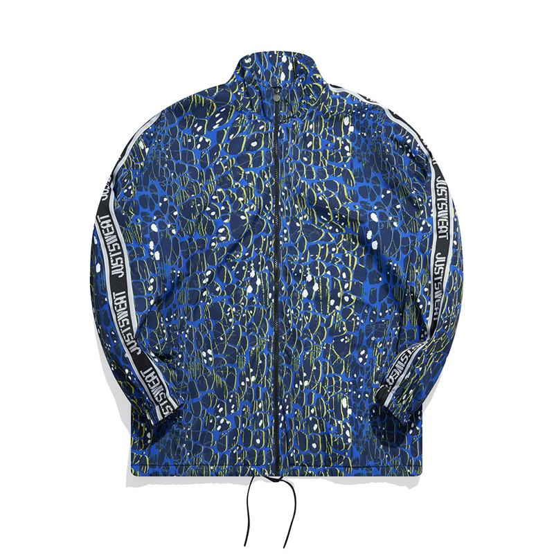 男子保暖风衣 21年新款 时尚运动防风加绒男外套879429160035