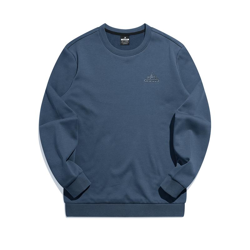【预售到手79】男子套头卫衣 21年新款 简约宽松运动男加绒卫衣879429920040