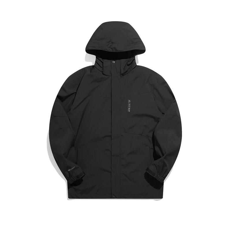 专柜款 男子风衣夹克 21年新款秋冬加绒连帽防风保暖外套 979429660339