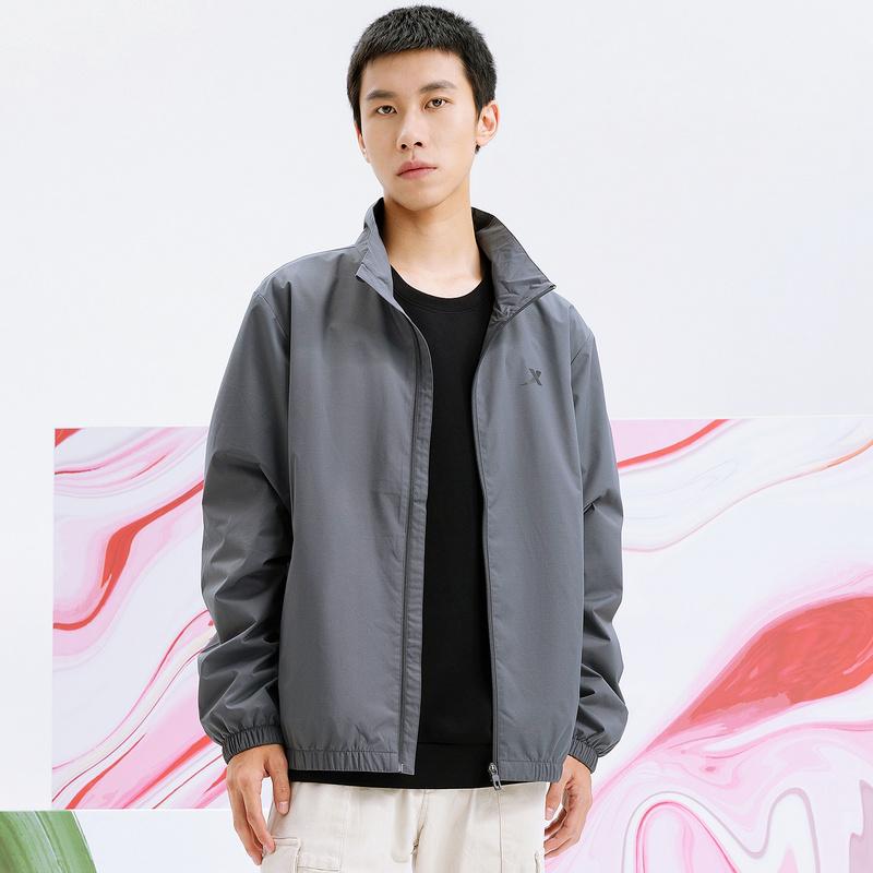 【预售到手119】男子夹克 21年新款 时尚防风保暖双层夹克879329120146