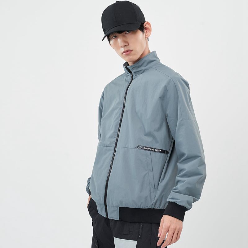 专柜款 男子保暖夹克 21年新款 运动跑步拉链上衣979129130289