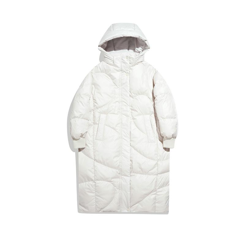 女子中长羽绒服 21年新款 鸭绒填充防风保暖外套979428640626