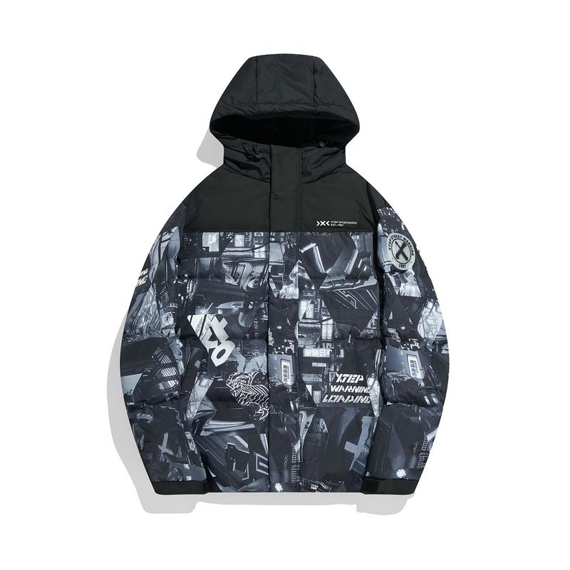 男子羽绒服 21年新款 时尚街头风灰鸭绒保暖外套979429190149