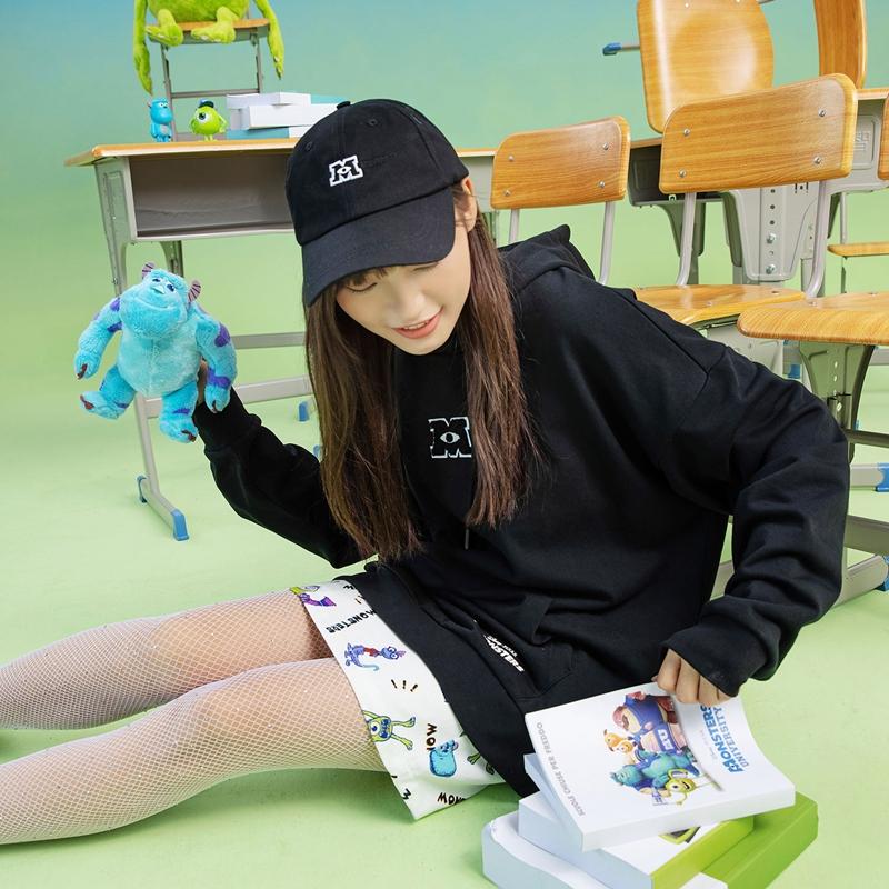 【怪兽大学】男女同款帽 21年新款 时尚休闲运动帽879337210102