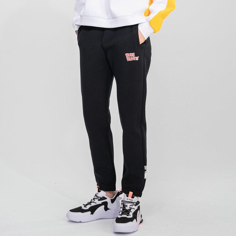 【兔八哥】专柜款 女子针织长裤 21年新款  潮流休闲长裤979128630511